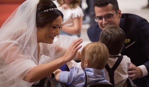 Невеста иребенок