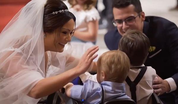 Невеста и ребенок