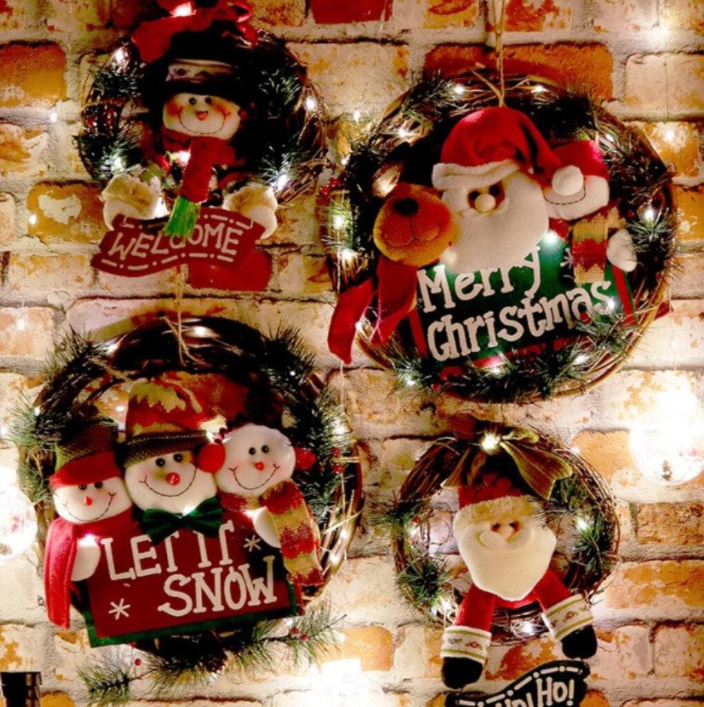 Gooparty, Деревянная рождественская гирлянда, 915 руб