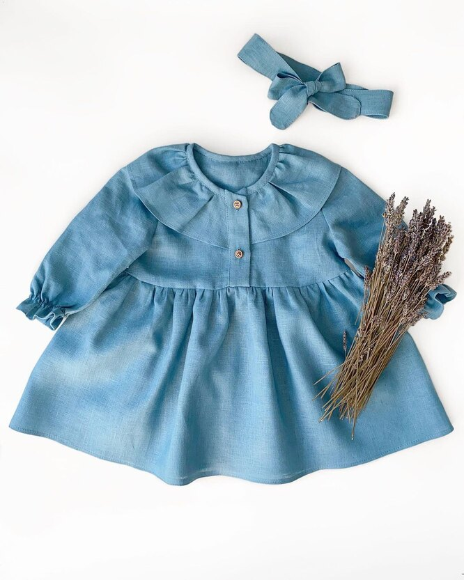 Платье и повязка на голову, Le Calenerie