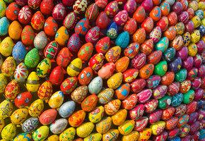 Как сделать пасхальное яйцо
