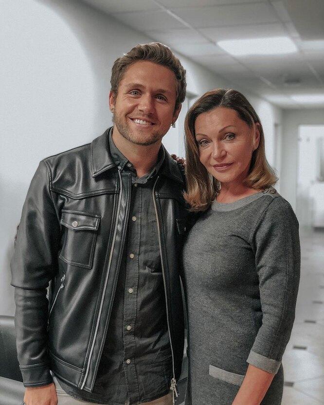Влад Соколовский и его мать до операции