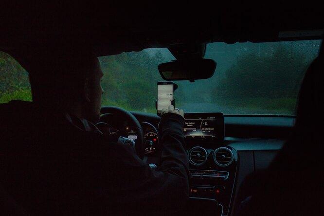 Путешествие на машине – поломка в дороге