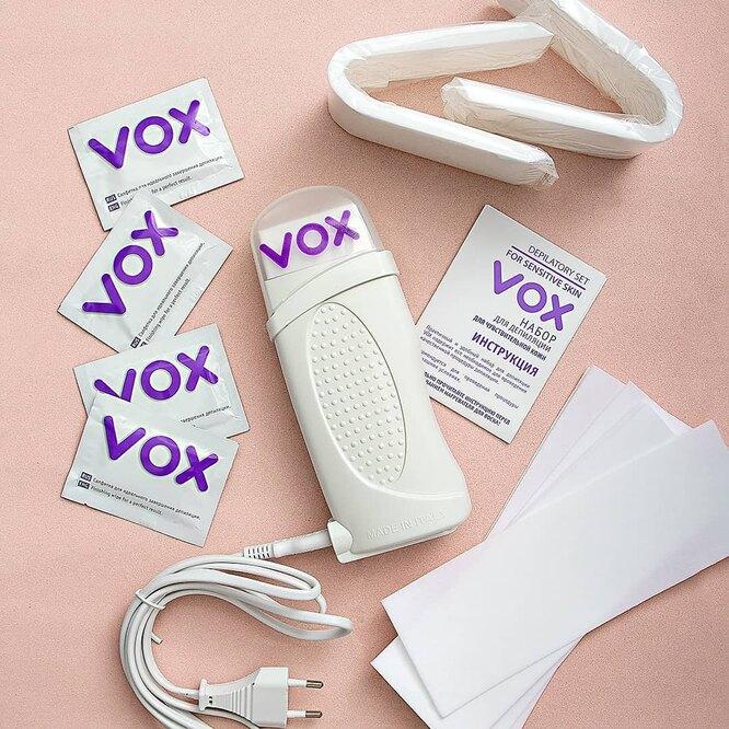 Набор для депиляции чувствительной кожи,  VOX, 1490 руб