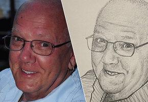 Такими их запомнят: художник бесплатно рисует людей, погибших от коронавируса