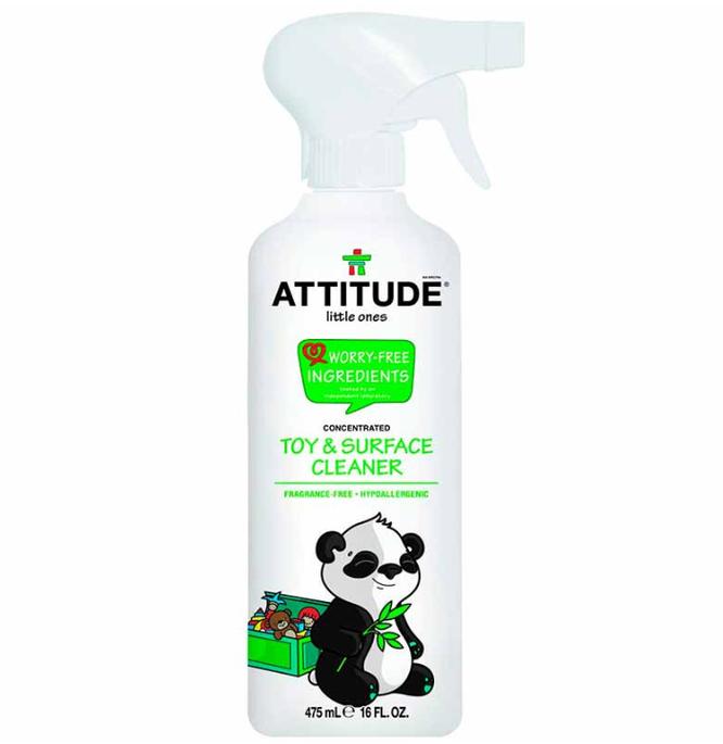 Евродом, Очиститель для игрушек и игровых поверхностей Attitude Citrus Zest, 1 550 руб.