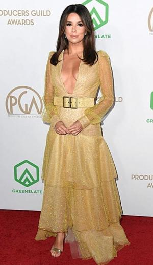 Ева Лонгория в платье из тюля