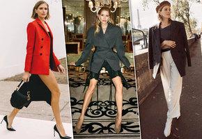 Жакет – тренд сезона: учимся носить его на примере Елены Перминовой