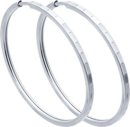 Серебряные серьги кольца конго, Sokolov, 1110 руб