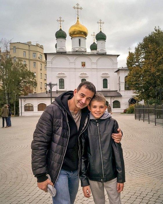 Дмитрий Певцов ссыном