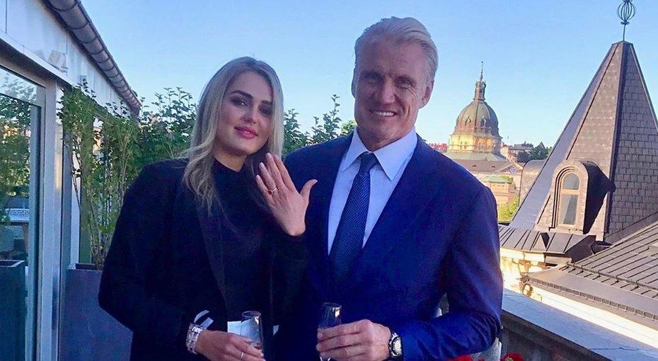 62-летний Дольф Лундгрен из«Универсального солдата» женится на24-летней фитнес-тренерке Эмме Крокдал