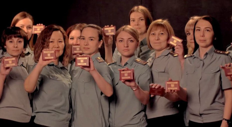 Иркутские служебные приставы снялись вклипе обалиментах намотив украинской песни