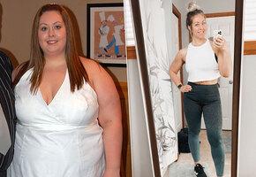 «Ушивание желудка мне не помогло»: женщина похудела на 65 кг благодаря домашним тренировкам и простой диете