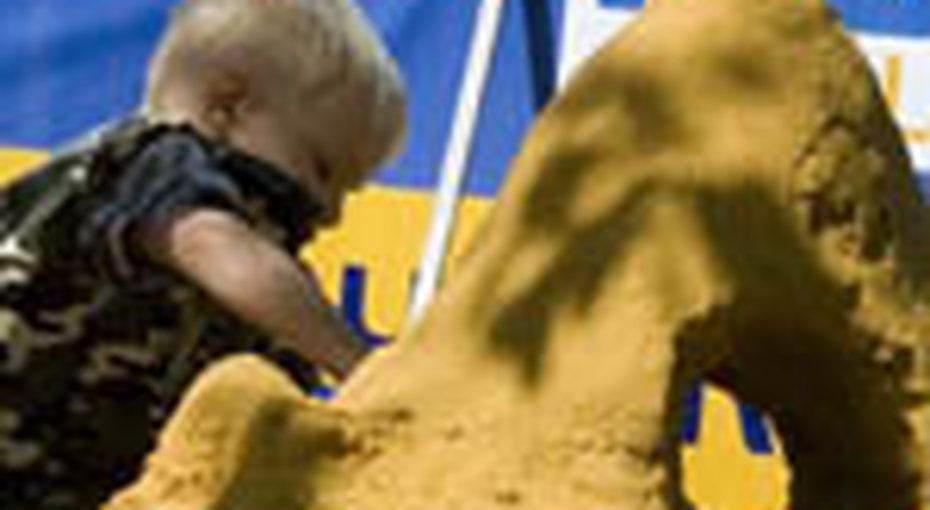 Детский чемпионат посозданию фигур изпеска