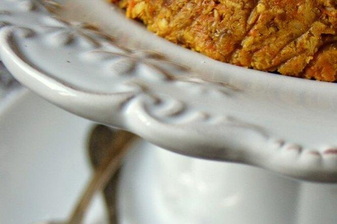 Морковный торт без выпечки