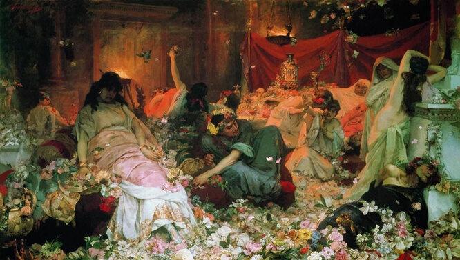 «Погребение в цветах», Павел Сведомский