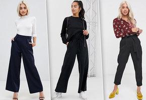 Модели модных брюк для девушек маленького роста, которые не придется подрезать