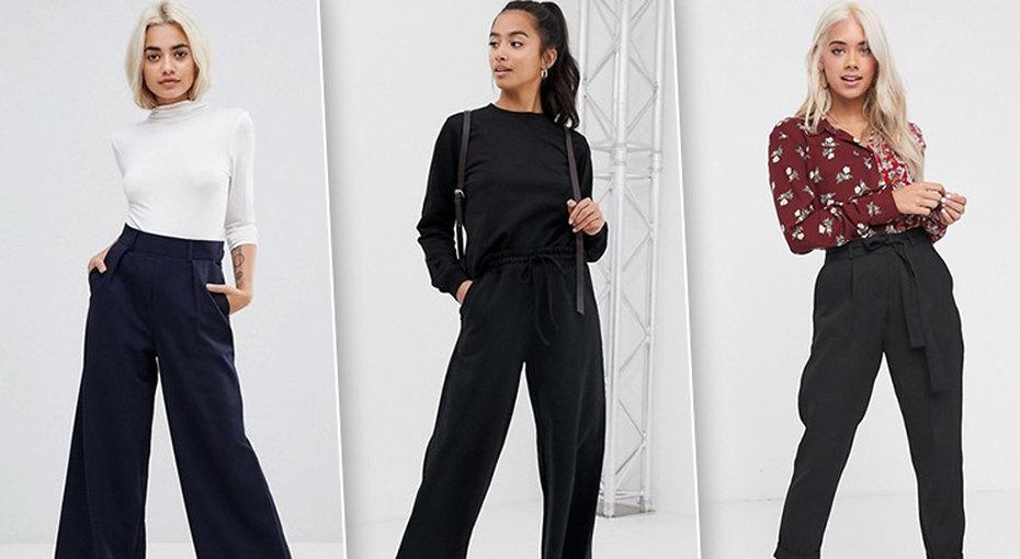 Модели модных брюк длядевушек маленького роста, которые непридется подрезать