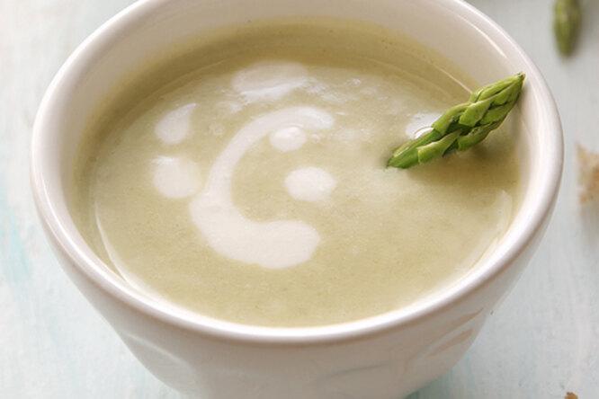 Крем - суп из спаржи и сельдерея