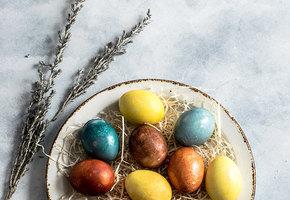 Краски не нужны: 8 натуральных способов окрашивания пасхальных яиц