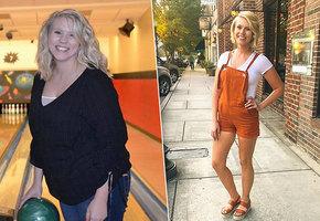 Полюбила себя и похудела на 37 кг. Реальная история
