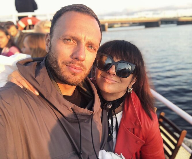 Тимур Соловьев с мамой в июле 2019 года