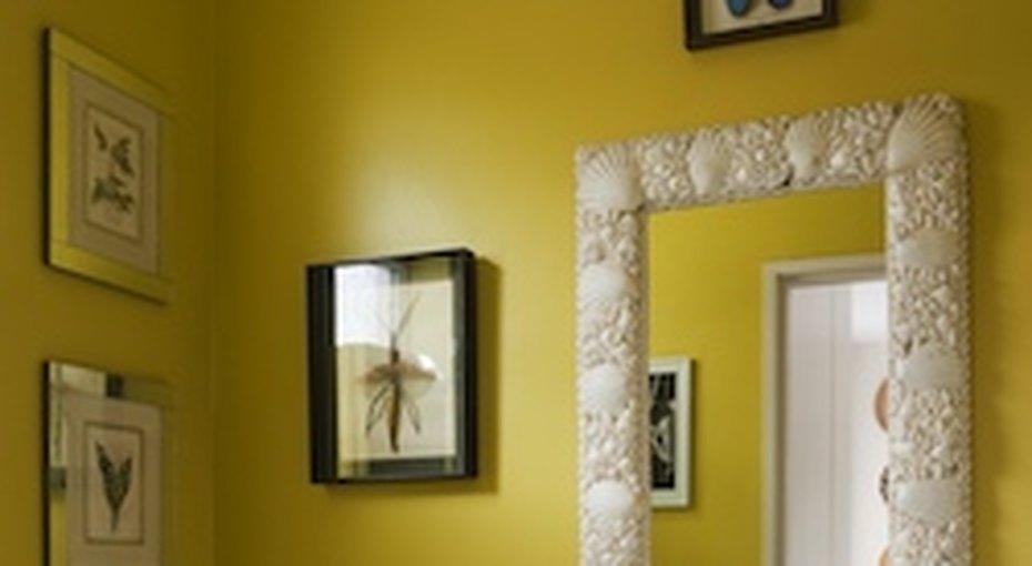 Украшаем стены вванной комнате