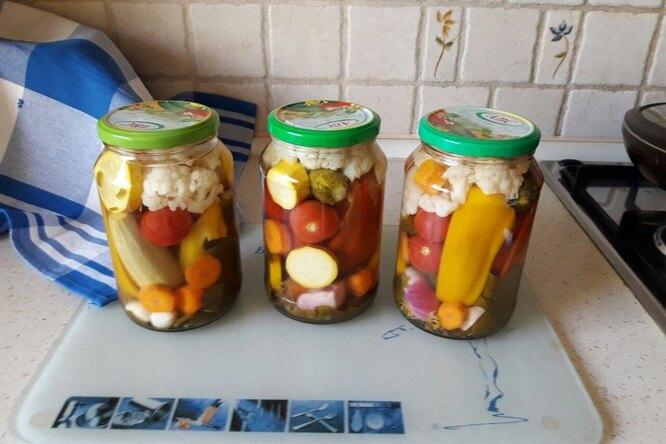 Пикули из овощей