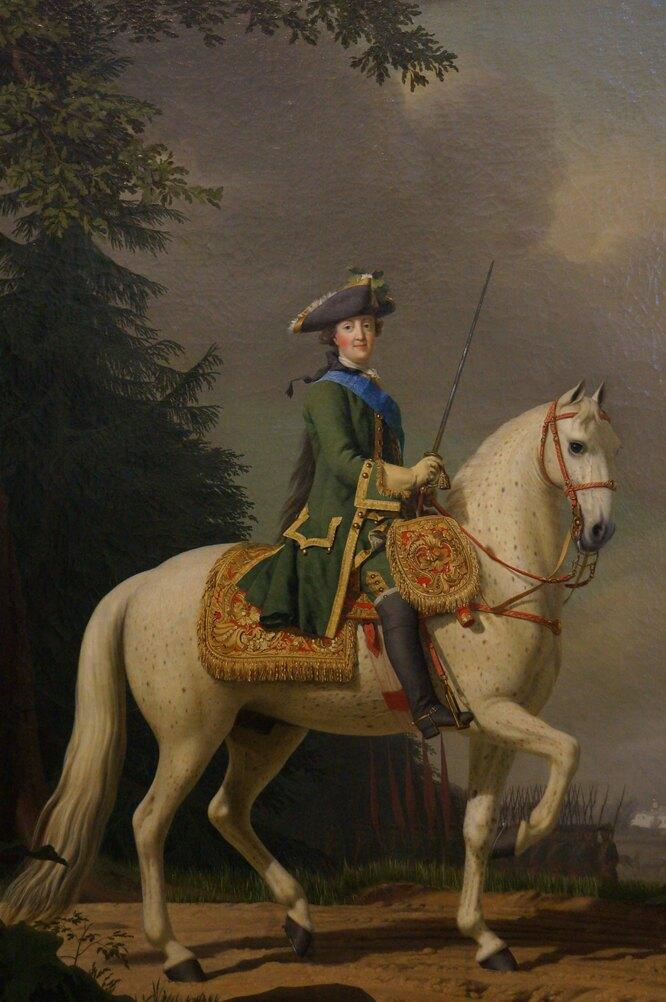 Вигилиус Эриксен, портрет Екатерины II, Эрмитаж<br />&nbsp;