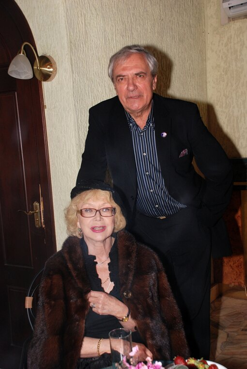 Светлана Немоляева и Александр Лазарев