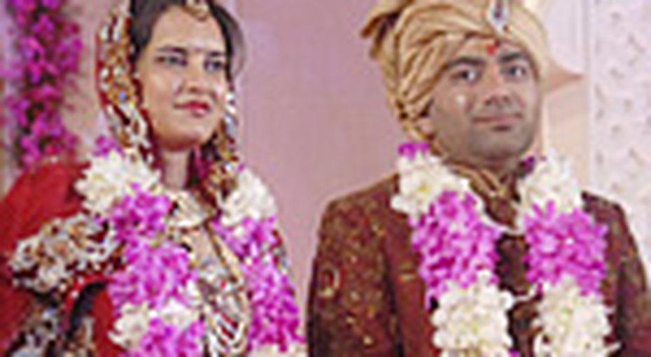 Самую большую свадьбу сыграли вИндии