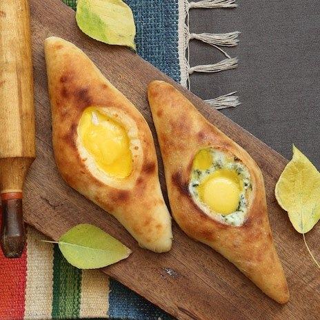 Рецепт хачапури по‑аджарски