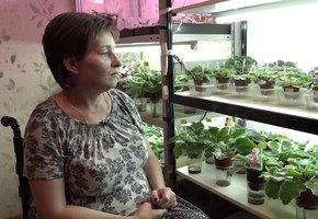 У женщины-инвалида, пережившей Беслан, раскупили все фиалки в инстаграме, после фильма Дудя