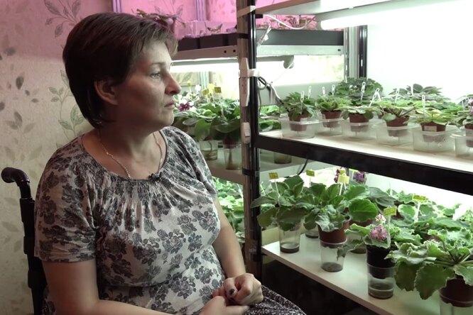 У женщины-инвалида, пережившей Беслан, раскупили все фиалки винстаграме, после фильма Дудя