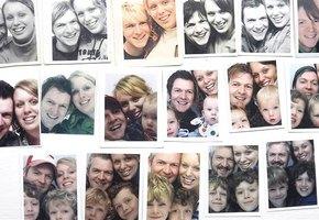 Фотоистория любви. Пара делала снимки в фотобудке на протяжении 17 лет