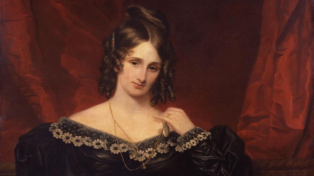 Мэри Шелли портрет