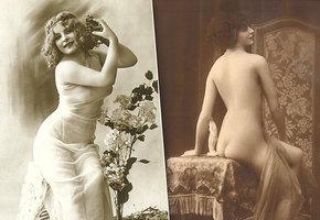 Запретные, желанные: посмотрите на эти эротические снимки времен Belle Époque