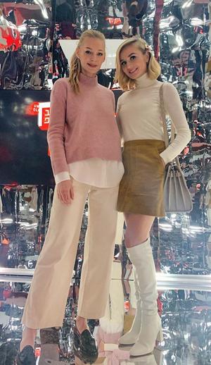 Полина Гагарина и Светлана Ходченкова