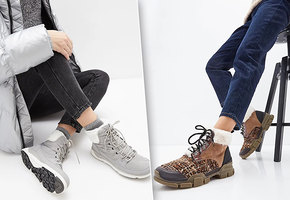 Тепло и с мехом: модные ботинки для зимних образов
