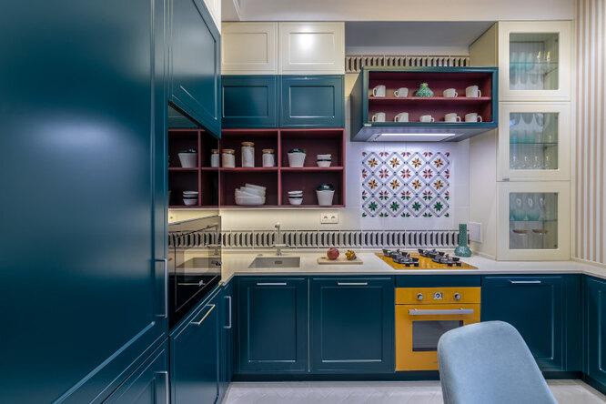 Модель Adele - удобное хранение кухонной утвари