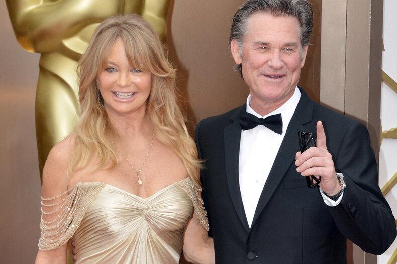 Как Голди Хоун иКурта Рассела напервом свидании полиция задержала