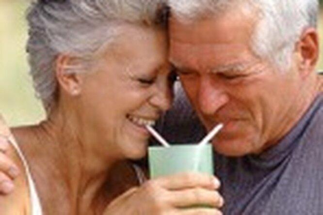 Солидный возраст немешает личной жизни