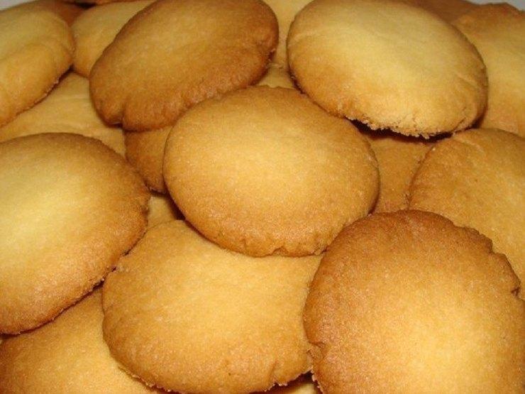 Быстрое ванильное печенье