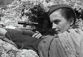 Её называли Леди Смерть: история советского снайпера Людмилы Павличенко