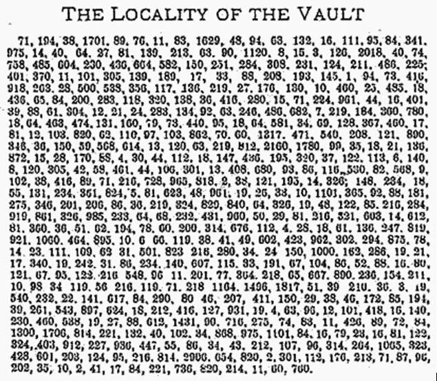 криптограммы Бейла