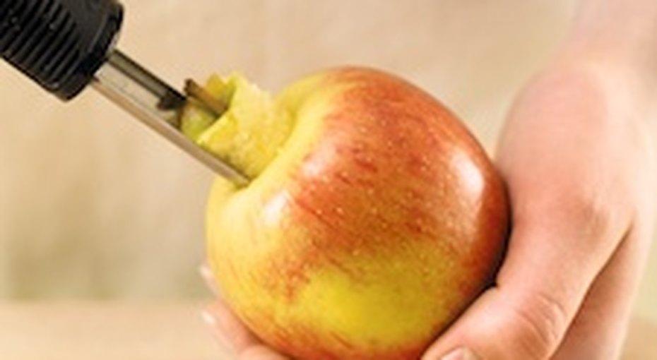 Как нарезать яблоки дляпирога