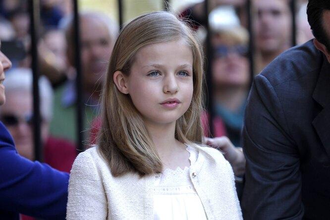 Старшая дочь и наследница престола Леонор