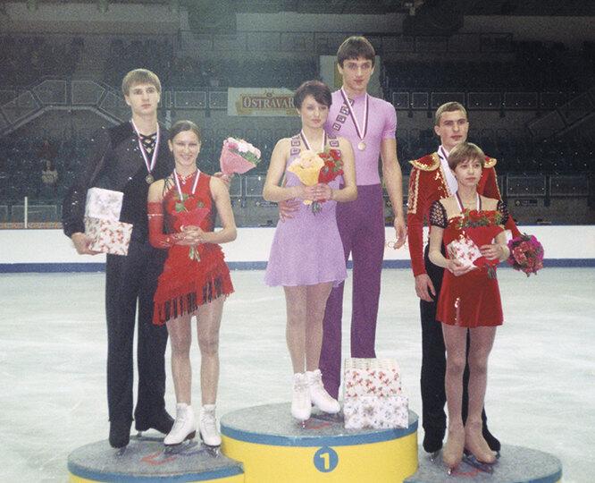 Подиум Гран-при в Остраве, 2003 год