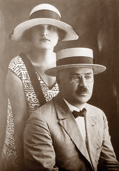 Марианна Колосова и генерал Косьмин