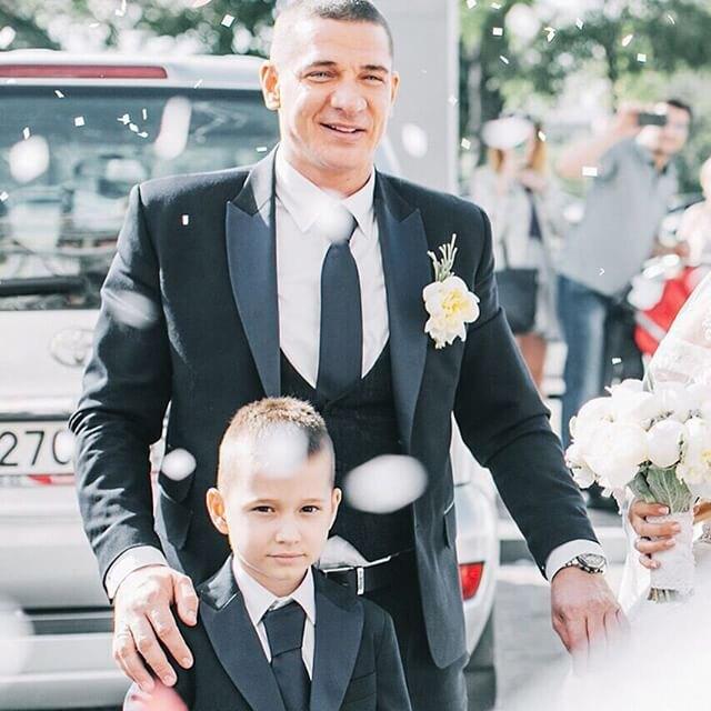 Жених Ксении с сыном